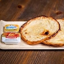 Croissant plancha